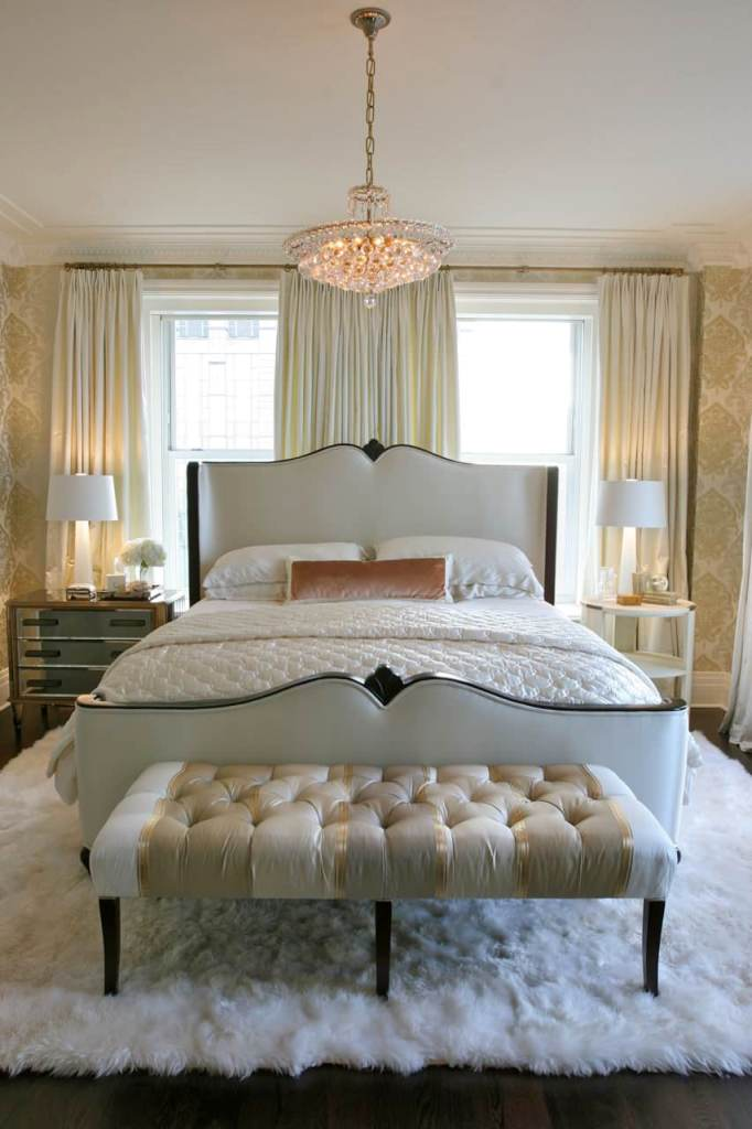 Cream and Ivory creates soft dreamy bedrooms