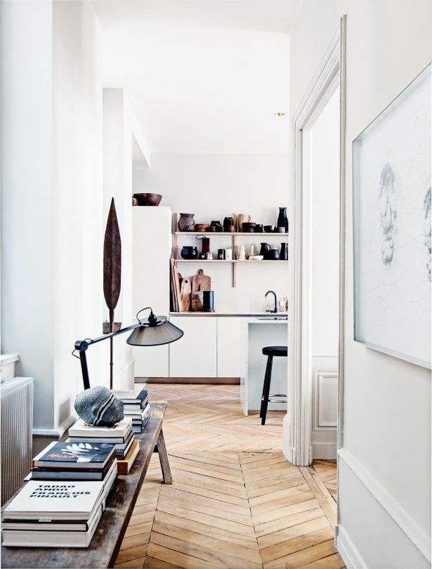 french style interior apartment