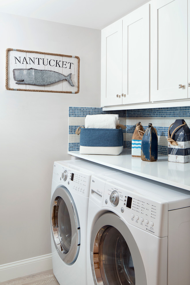 design and decorate the laundry rooms
