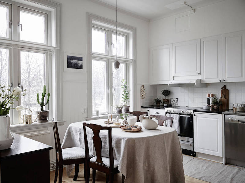 Scandinavian style kitchen design