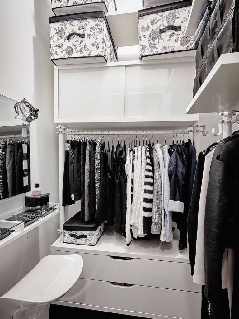 Dressing Room White Designs
