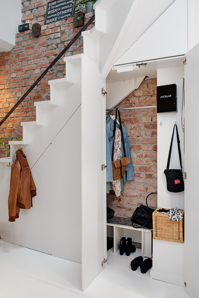 Ideas for using the space under your stairs