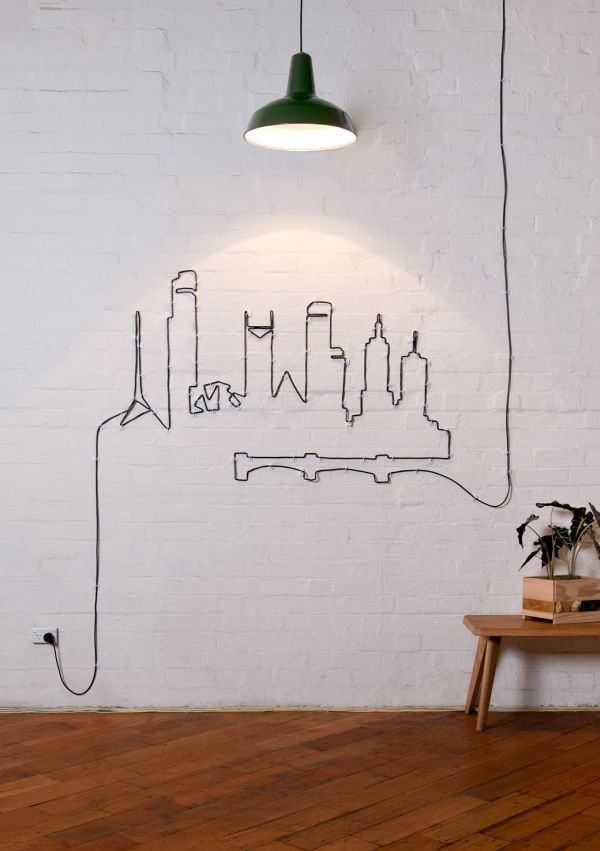 wires wall art