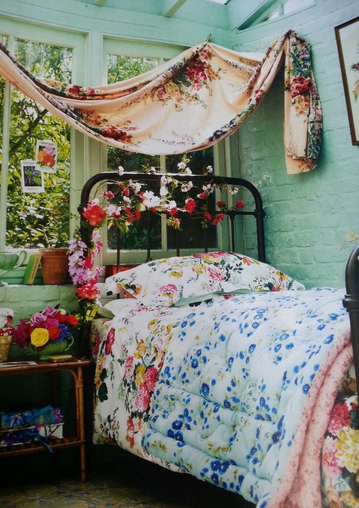 Bohemian Floral Bed Covers