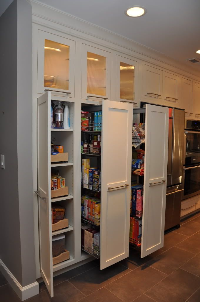 Roll out kitchen pantry