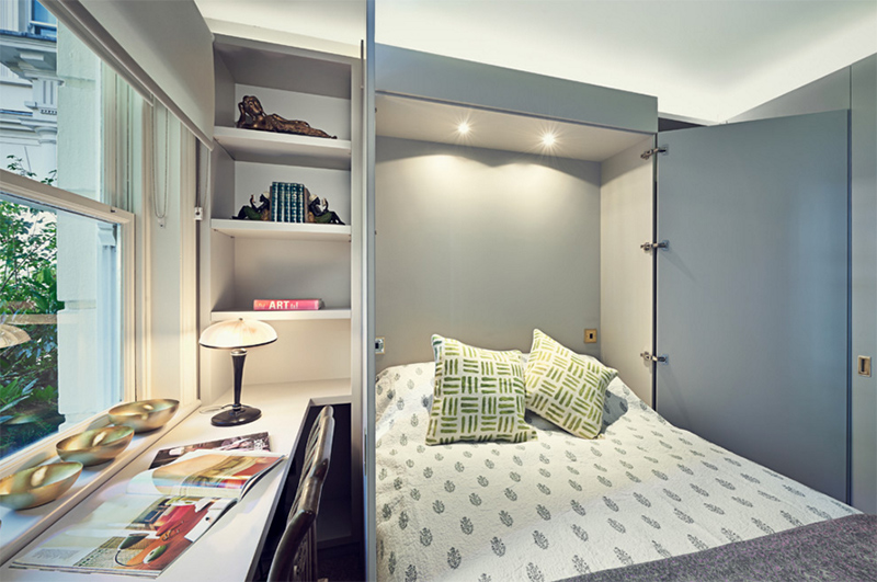 Murphy Bed Small Space Decoration