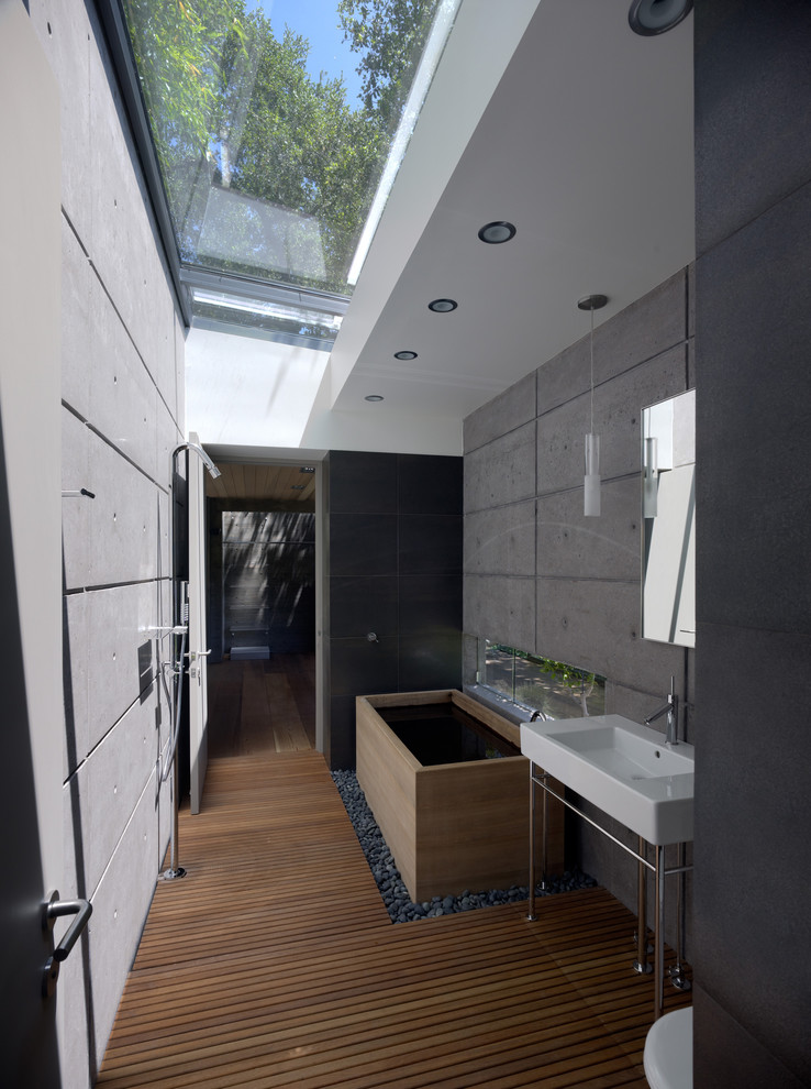 Skylights in the bathroom