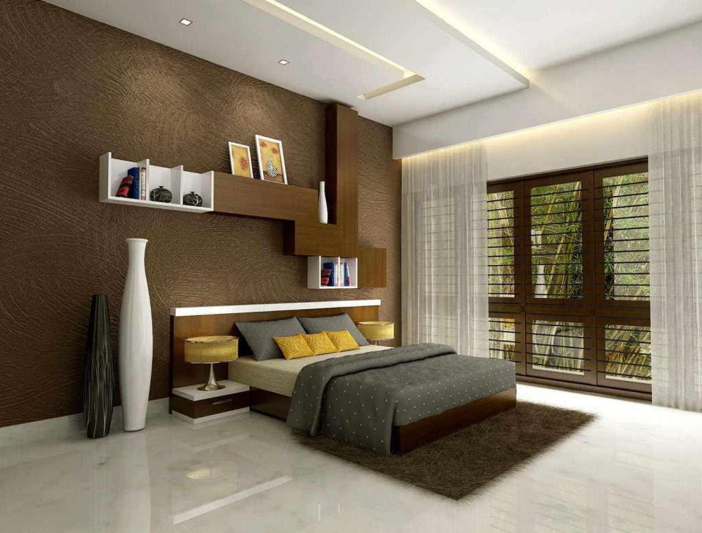 bedroom roof design