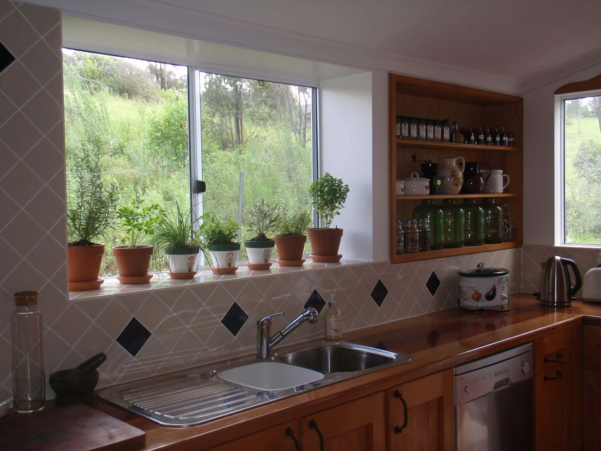 Kitchen Window Wall
