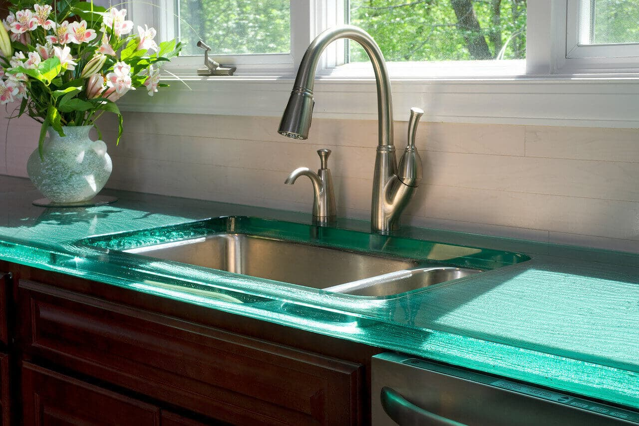 GlassToped countertops