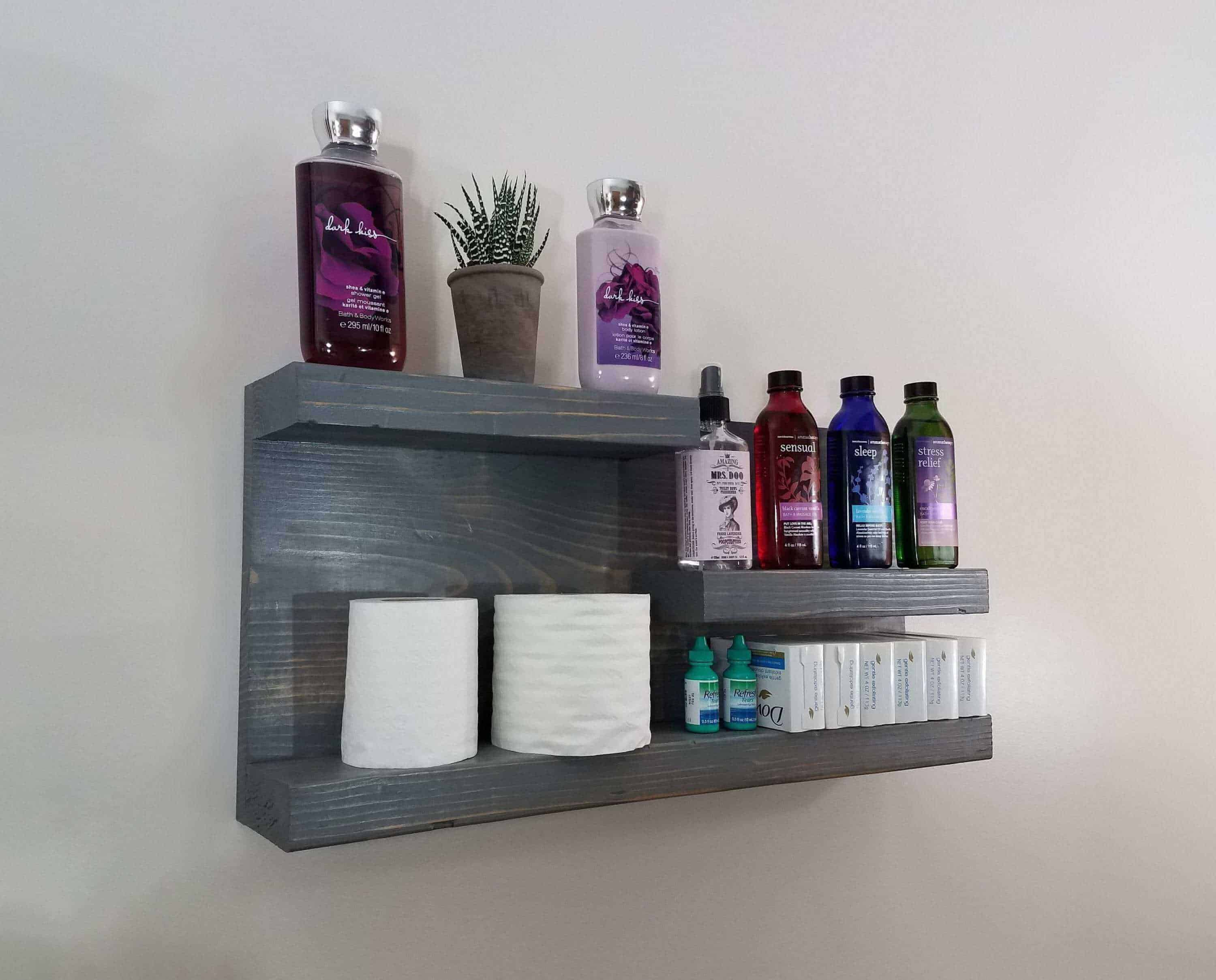 Bathroom cabinets and shelf designs