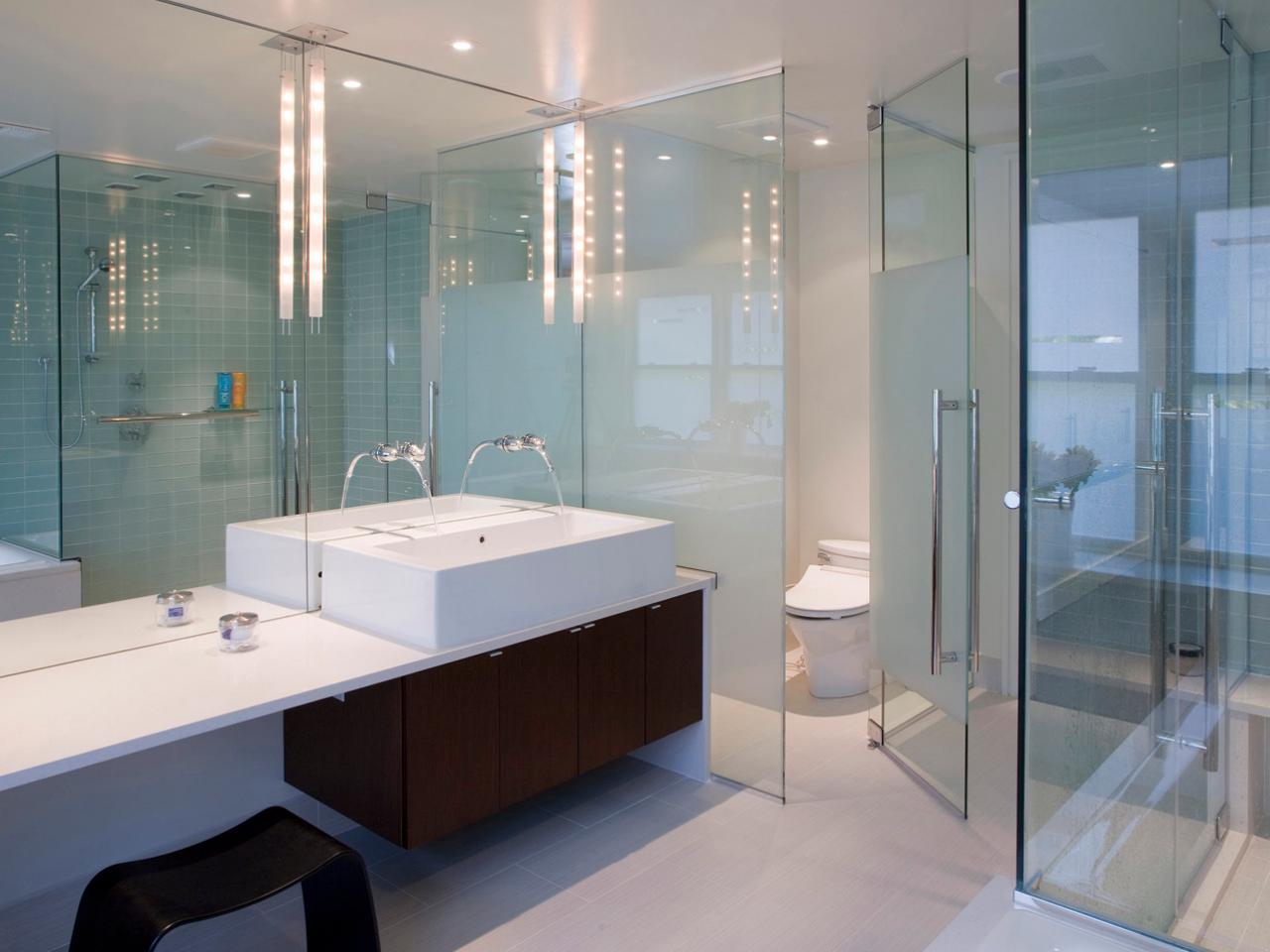 Scandinavian bathroom design