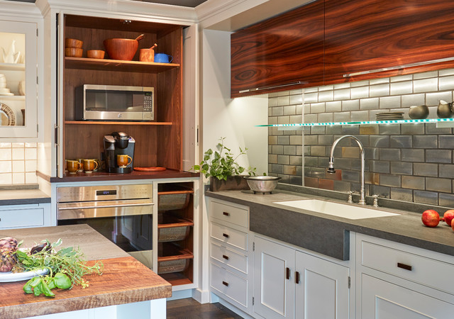 Fantastic kitchen corner design