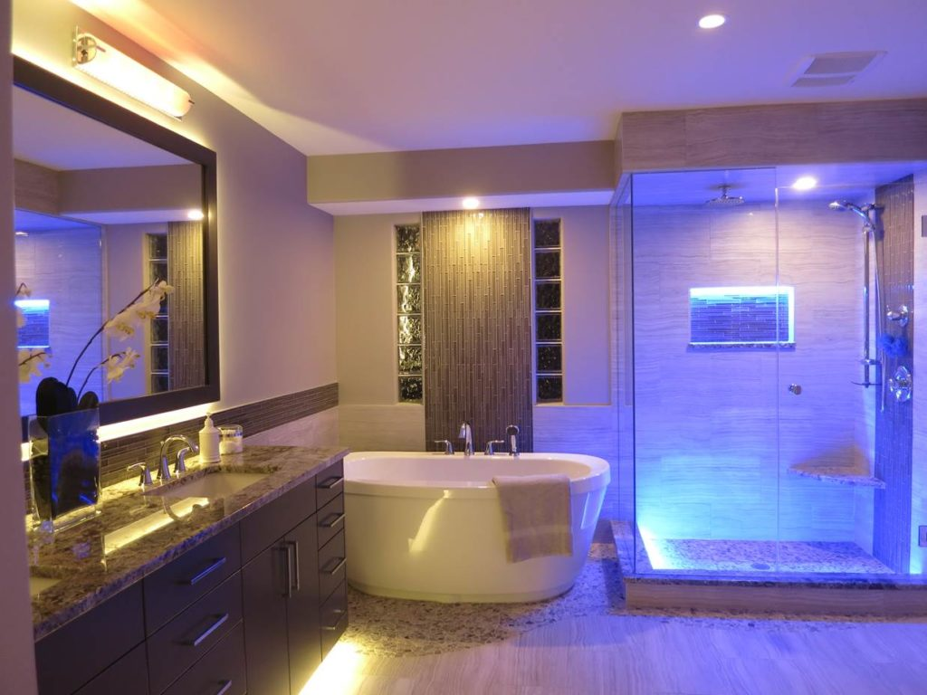 Smart bathroom lights 14