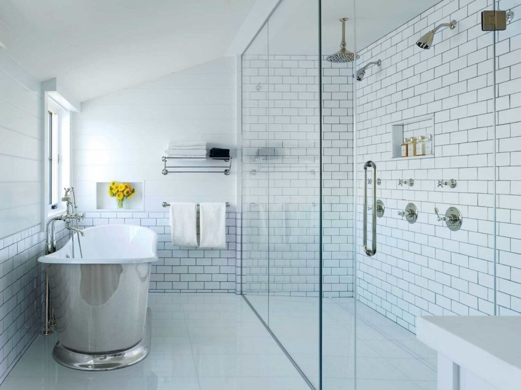 small shower ideas