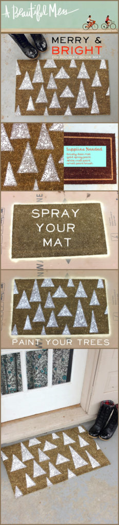 Holiday Door Matta DIY