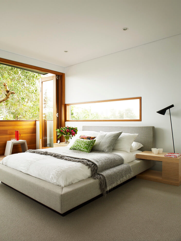 Elegant modern bedroom design