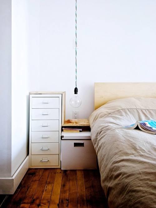 Hanging Bed Lamp Ideas