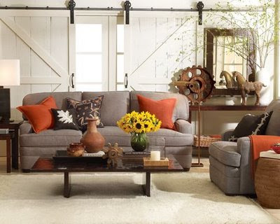 The new American Country by Brentwood designer Amanda Gates .