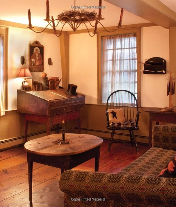 """From """"Early American Country Interiors"""" by Author Tim Tanner ."""