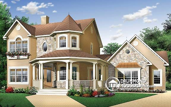 """Plan of the Week: """"A Country Cottage with an American Spirit ."""