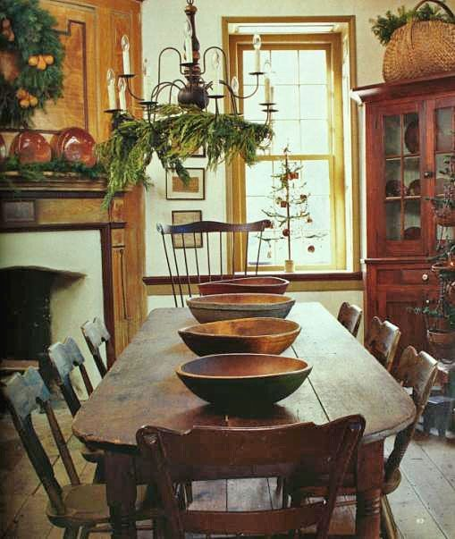 Decorating In The Primitive Colonial Style | Colonial home decor .