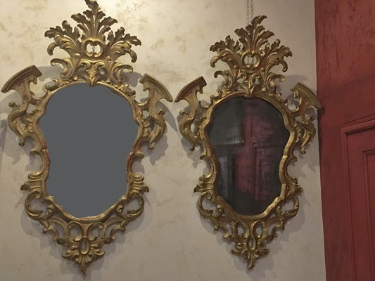 Antique Mirrors, Set of 2 for sale at Pamo