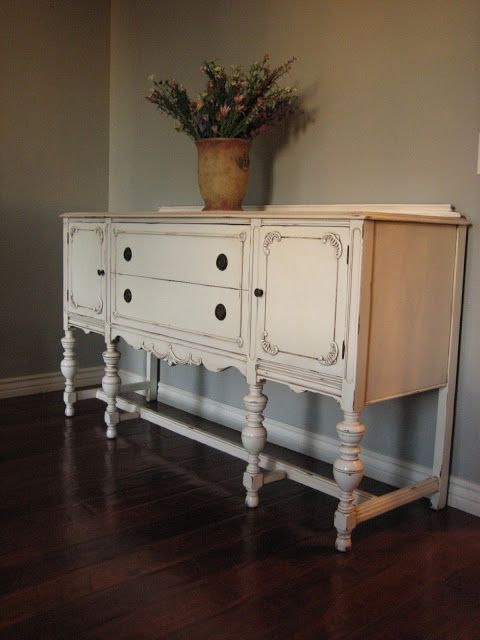 Another Pretty Antique Sideboard ~ | Antique sideboard, Furniture .