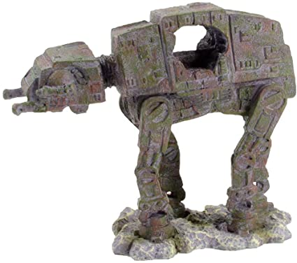 Amazon.com : Sci Fi Aquarium Decorations (at-at, Small) : Pet Suppli