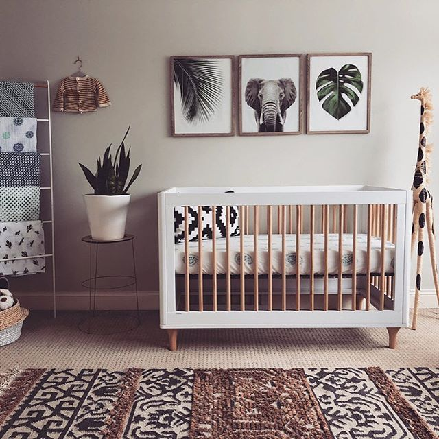 Welcome to the jungle (nursery)! We're digging this modern take on .