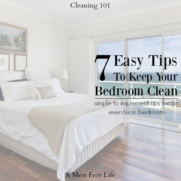 7 Easy Tips To Keep Your Bedroom Clean This 2020   Simple Cleaning .