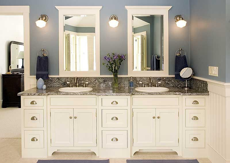 25 White Bathroom Cabinets Ideas | White bathroom cabinets, Custom .