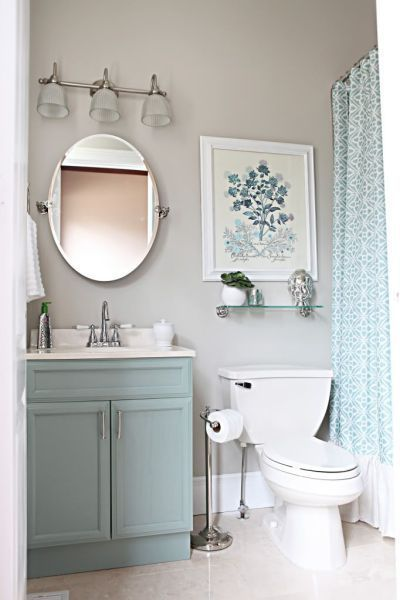 13 Pretty Small-Bathroom Decorating Ideas You'll Want to Copy .