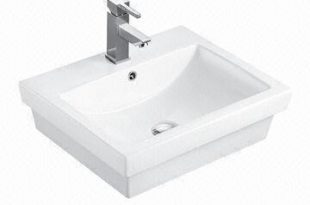 MJ-286 Bathroom Hand Wash Basin, Sized 540 x 460 x 160mm | Global .