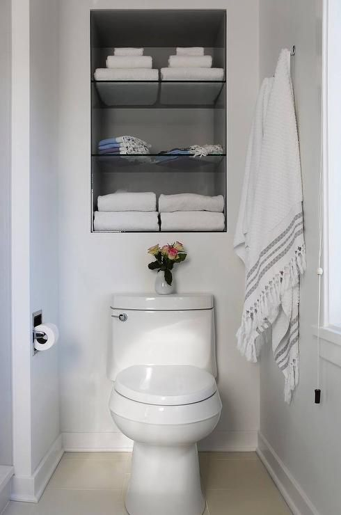 15 Bathroom Shelf Ideas For a More Organized Ho