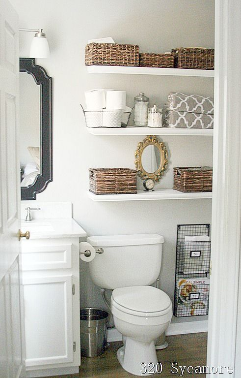 11 Fantastic Small Bathroom Organizing Ideas | Small bathroom .