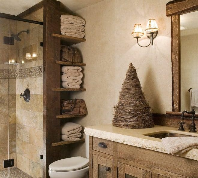 35 Best Bathroom Shelf Ideas to Choose for 2020 | Decor Sn