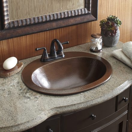 Copper Bathroom Sinks and Products by Sinkolo