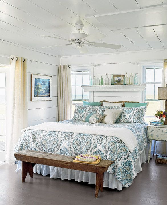 Favorite Pins Friday | Cottage style bedrooms, Beach house bedroom .