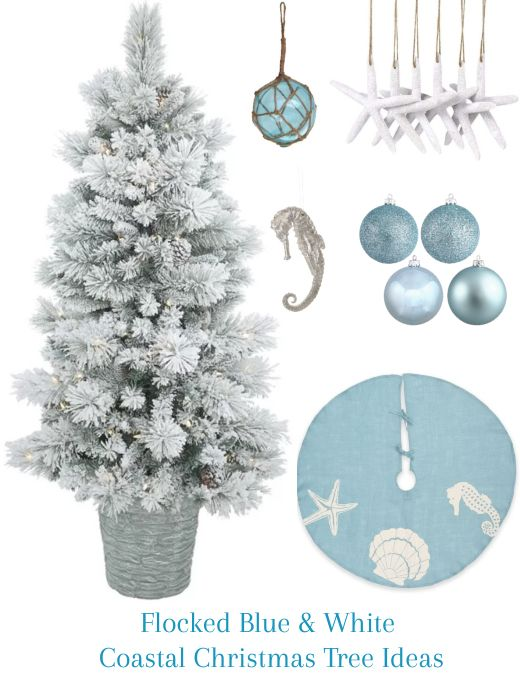 Beach Style Christmas Decoration Ideas