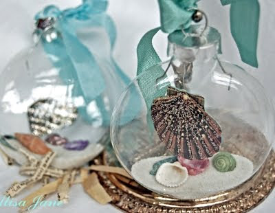 Ideas for Homemade Christmas Ornaments -Coastal Style! - Coastal .