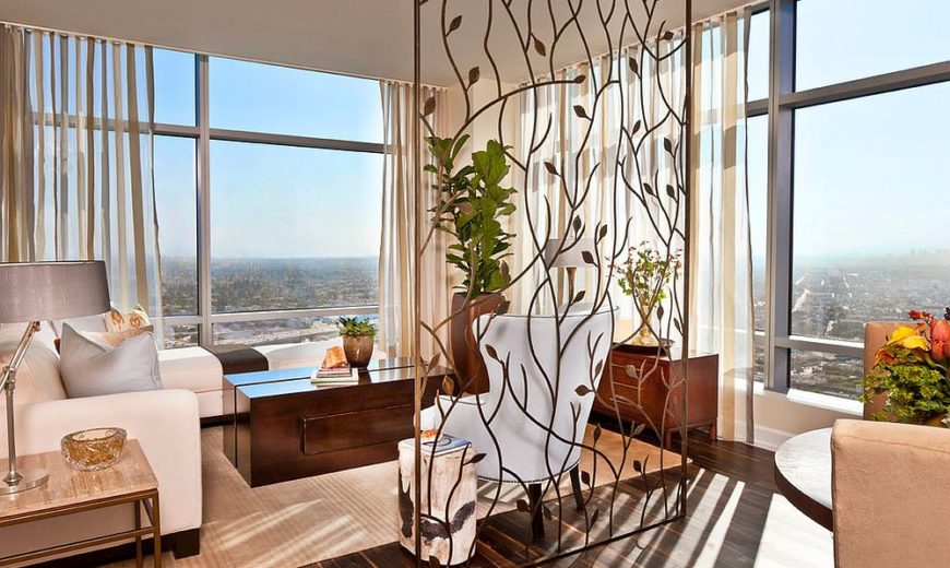 25 Nifty, Space-Saving Room Divider Ideas for the Living Ro
