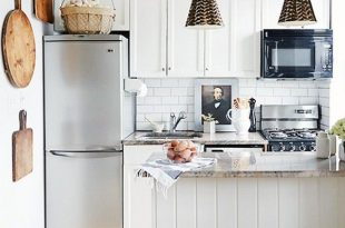 25 Absolutely Beautiful Small Kitchens That Prove Size Doesn't .
