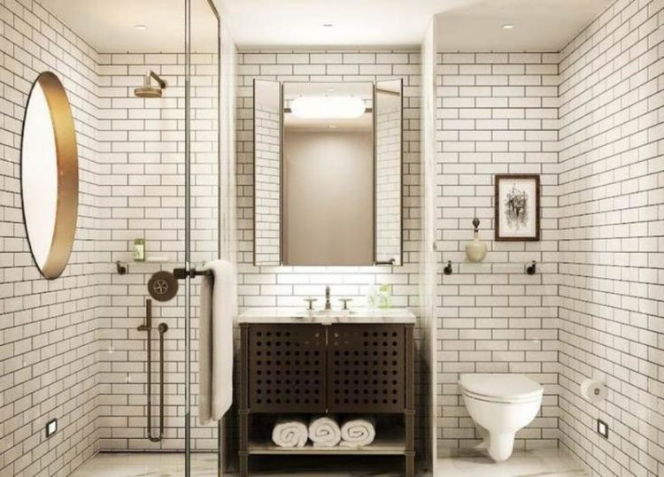 20 Beautiful Subway Tile Bathroom Ide
