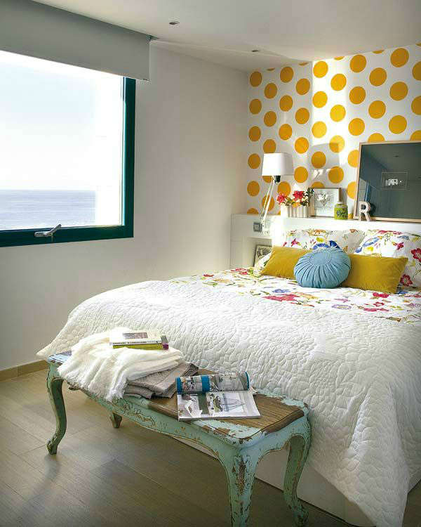 Awesome Bedroom Accent Wall Color and Decorating Ideas - Decohol