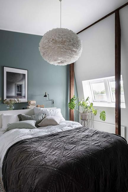 Transitional Color Palette, Ocean Blue and Bluish Gray Colors in .