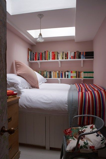 20 Awesome Small Bedroom Ideas | Small room bedroom, Bookshelves .