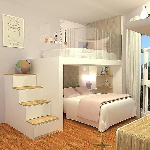 47 Simple Bedroom Designs Ideas | Small apartment bedrooms, Modern .