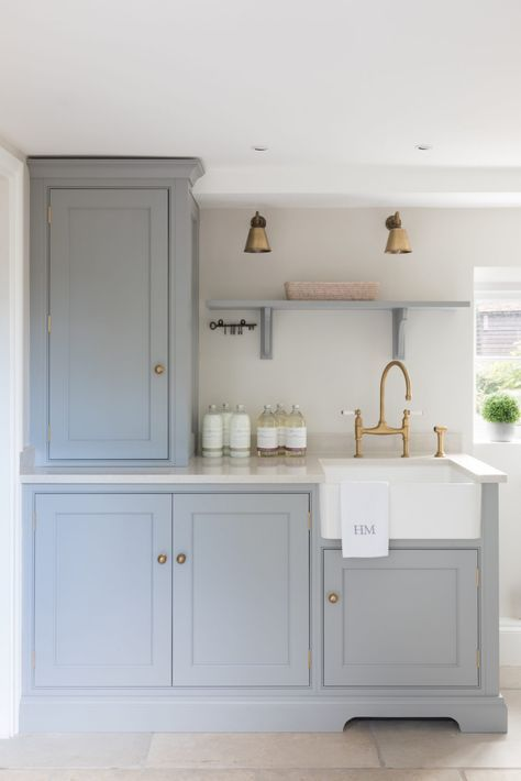 Utility Room - St. Albans Townhouse Project - Luxury Bespoke .