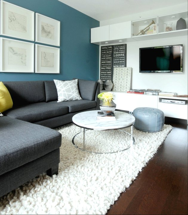 Marble Top Coffee Table - Contemporary - living room - Cutler .